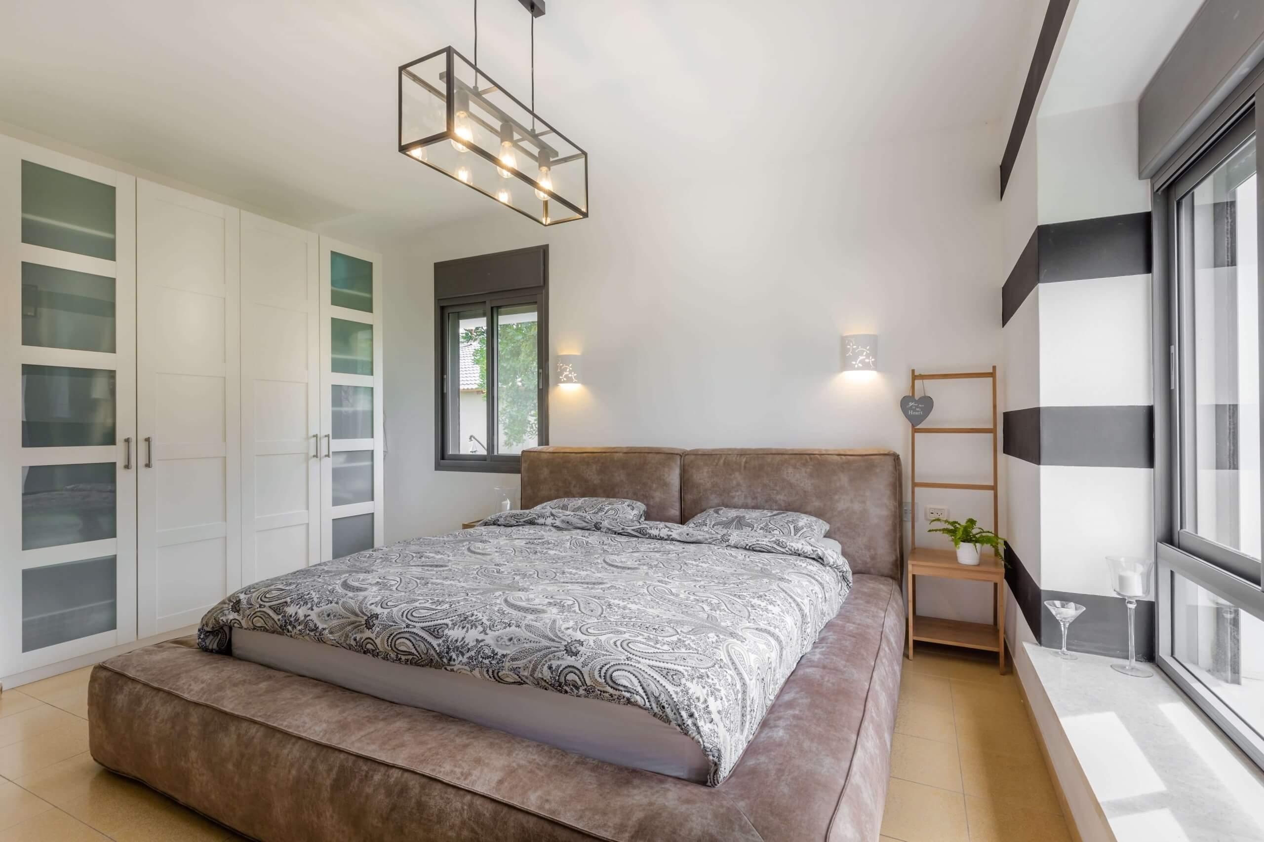 בית בצופית   עיצוב חדר שינה